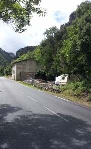 St. Martin Lys, France, 8.5 km to Quillan for a lunch break.