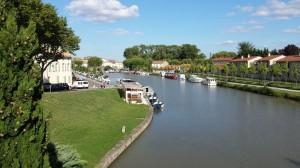 Quai du Port, Castelnaudary, France